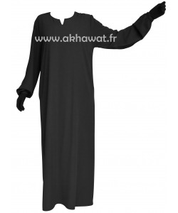 abaya-elastic-cuffs-caviary-elbassira-akhawat