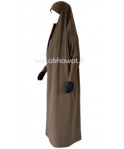 Pack of 10 Tight sleeves - Full length jilbab - Light microfibre